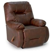 8MW09LV  SWIVEL ROCKER RECLINER, Chocolate, Burgandy & Mushroom