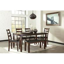 6-Piece Coviar Dining Room Table Set (6/CN)