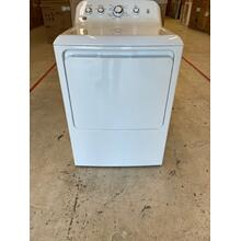 CLEARANCE SPECIAL - GE® 7.2 cu. ft. Capacity aluminized alloy drum Electric Dryer  (SCRATCH AND DENT)