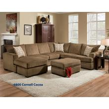 See Details - Cornell Cocoa Sectional