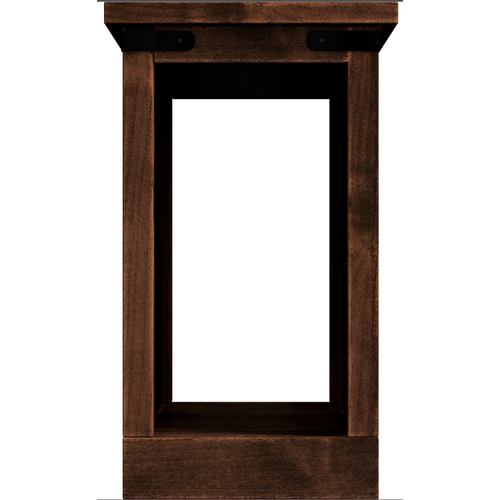 Legends - Farmhouse Chairside Table in a Rustic Aged Whiskey finish     (FH4410-AWY,53048)