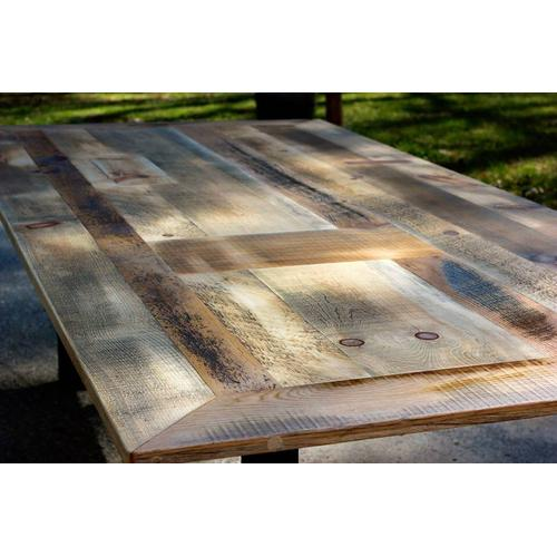 Locally Made Reclaimed Barnwood Dining Table