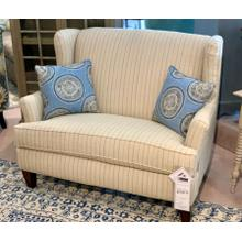 Bradstreet Settee-Floor Sample-**DISCONTINUED FABRIC**
