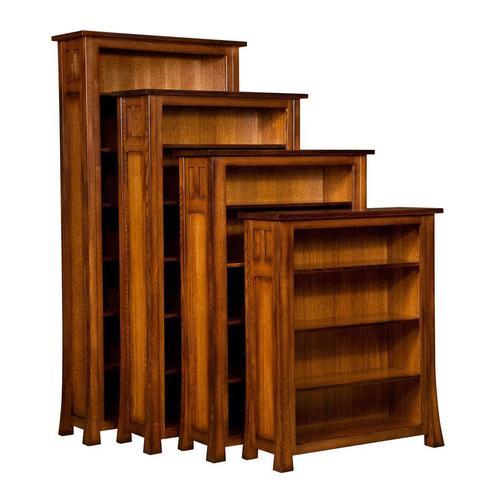 Bridgefort Mission Bookcase
