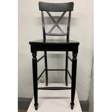 X-Back Stationary Bar Stool