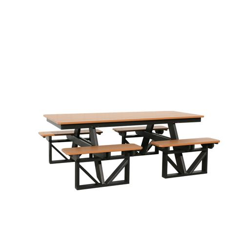7' Walk-in picnic Table