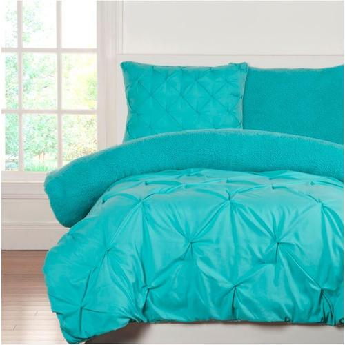 """Playful Plush Robins Egg Blue"" Crayola Comforter Sets Twin"