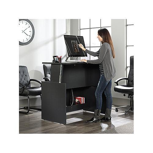 Sit/Stand Desk Bourbon Oak