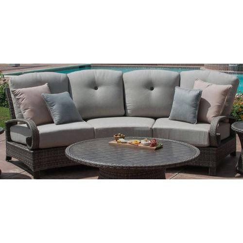 Barcalounger Outdoor Living - Curved Sofa