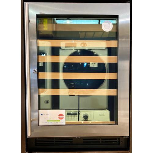 "U-Line U1224WCS13B  1224wc 24"" Wine Refrigerator With Stainless Frame Finish (115 V/60 Hz Volts /60 Hz Hz)"