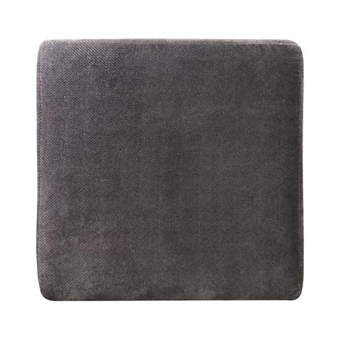 Mammoth Cocktail Ottoman in Smoke Fabric