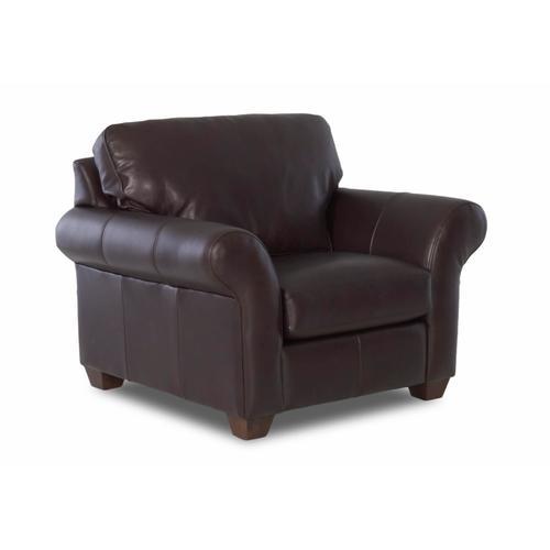Distinctions - Moorland Java Leather Chair