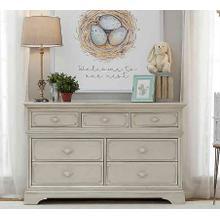 Amherst 7-Drawer Dresser - Antique White