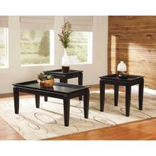 Delormy 3 piece Occasional Table Set