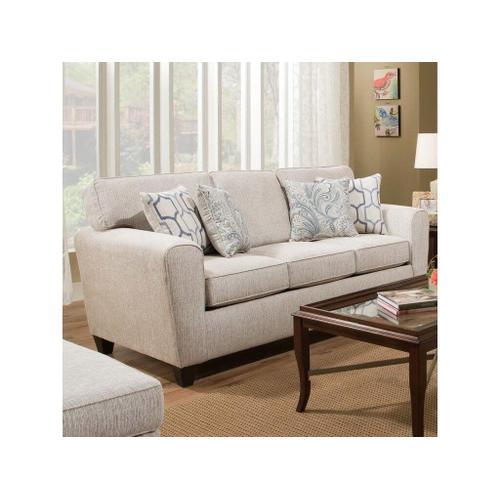 American Furniture Manufacturing - Uptown Sofa- Ecru