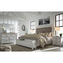Kanwyn - King Bedroom Set - White Wash