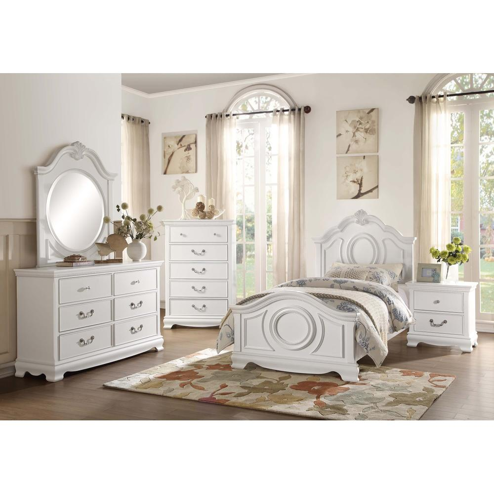 Lucida 4Pc Full Bed Set