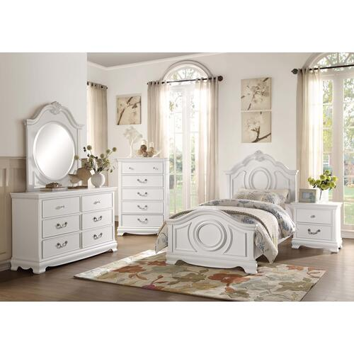 Lucida 4Pc Full Bed Set