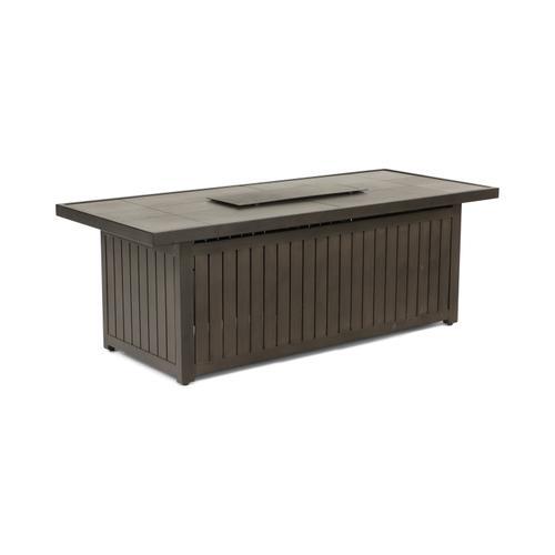 Agio - Glenwood Rectangle Fire Table