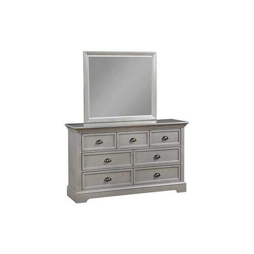 Tamarack Gray 7-Drawer Dresser