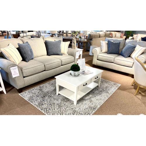 Bassett Furniture - Bassett Stain Resistant Sofa & Loveseat