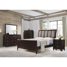 Michelle's Awesome Deal, King Bedroom Set, 6 Piece, Dresser, Mirror, 2 Nightstands and King Bed Frame, with Mattress and Box Spring