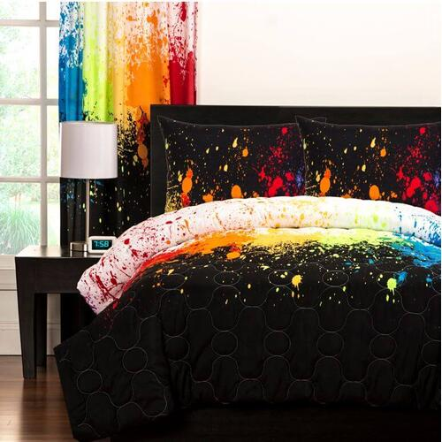 """Cosmic Burst"" Crayola Comforter Sets Twin"