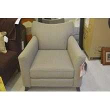 Decor-Rest grey high leg low back chair.