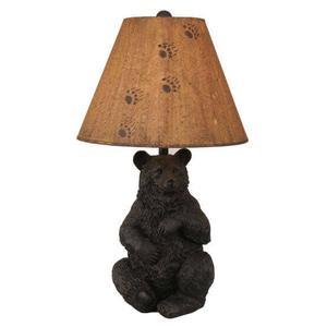 Sitting Bear Pot Table Lamp