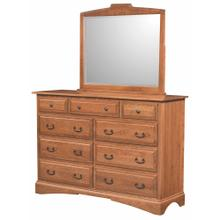 Briarwood- Oxford 9 Drawer Dresser
