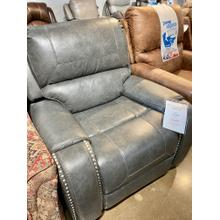 Avalanche Charcoal Swivel Glider Recliner