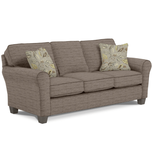 ANNABEL  Stationary Sofa in Cement/Earthen        (S80R-21619/28039,27943)