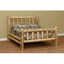 "QUEEN Standard Bed w/ 56"" Headboard"