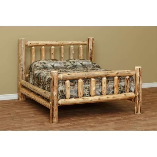"QUEEN Standard Bed w/ 56"" Headboard"