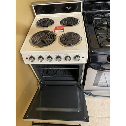 Treviño Appliance - Whirlpool Electric Coil Top Range