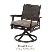 See Details - Glenwood Collection Swivel Rocker