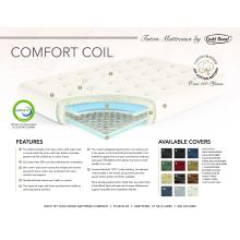 "See Details - 9"" Comfort-Coil Loveseat futon mattress"