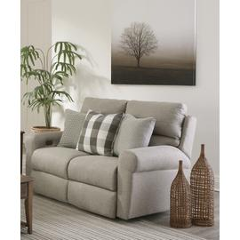 See Details - Happy Place Lay Flat Reclining Loveseat Metal
