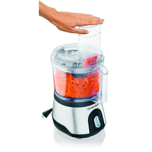Hamiltonbeach - Hamilton Beach 10-Cup Food Processor with Compact Storage (70760)