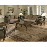 Serta 7685 Sofa, Loveseat, and Chaise