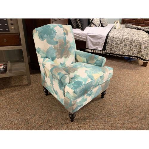 Tyne Club Chair in Spa Blue