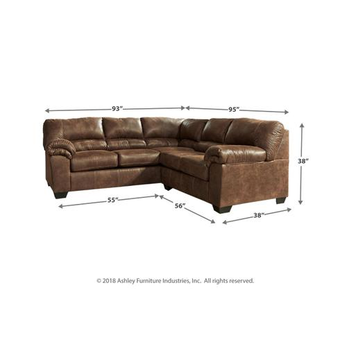 Ashley Furniture - Bladen Coffee 2PC Sectional (12000)