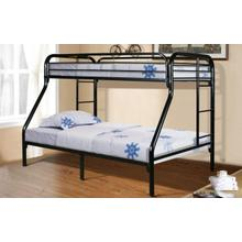 Twin/Full Metal Bunk Beds