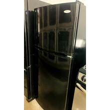 See Details - USED- Whirlpool® 10 cu. ft. Top Freezer Refrigerator- TMBLK24-U  SERIAL#3