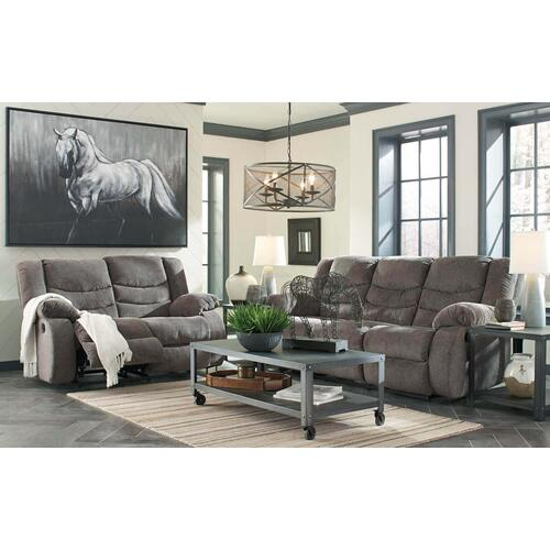 Ashley 986 Tulen Reclining Sofa and Love