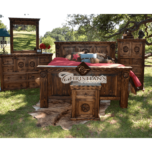 Rodeo King 7 Piece Bedroom Set