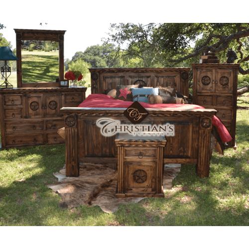 Rodeo Queen 7 Piece Bedroom Set