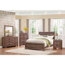 Beechnut Qn Bed, Dresser, Mirror and Nightstand
