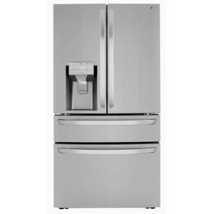 LG - LG 29.5-cu ft 4-Door French Door Refrigerator with Dual Ice Maker (Printproof Stainless Steel) ENERGY STAR