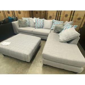 Gallery - 2 Piece Sectional, Ottoman Sold Separately